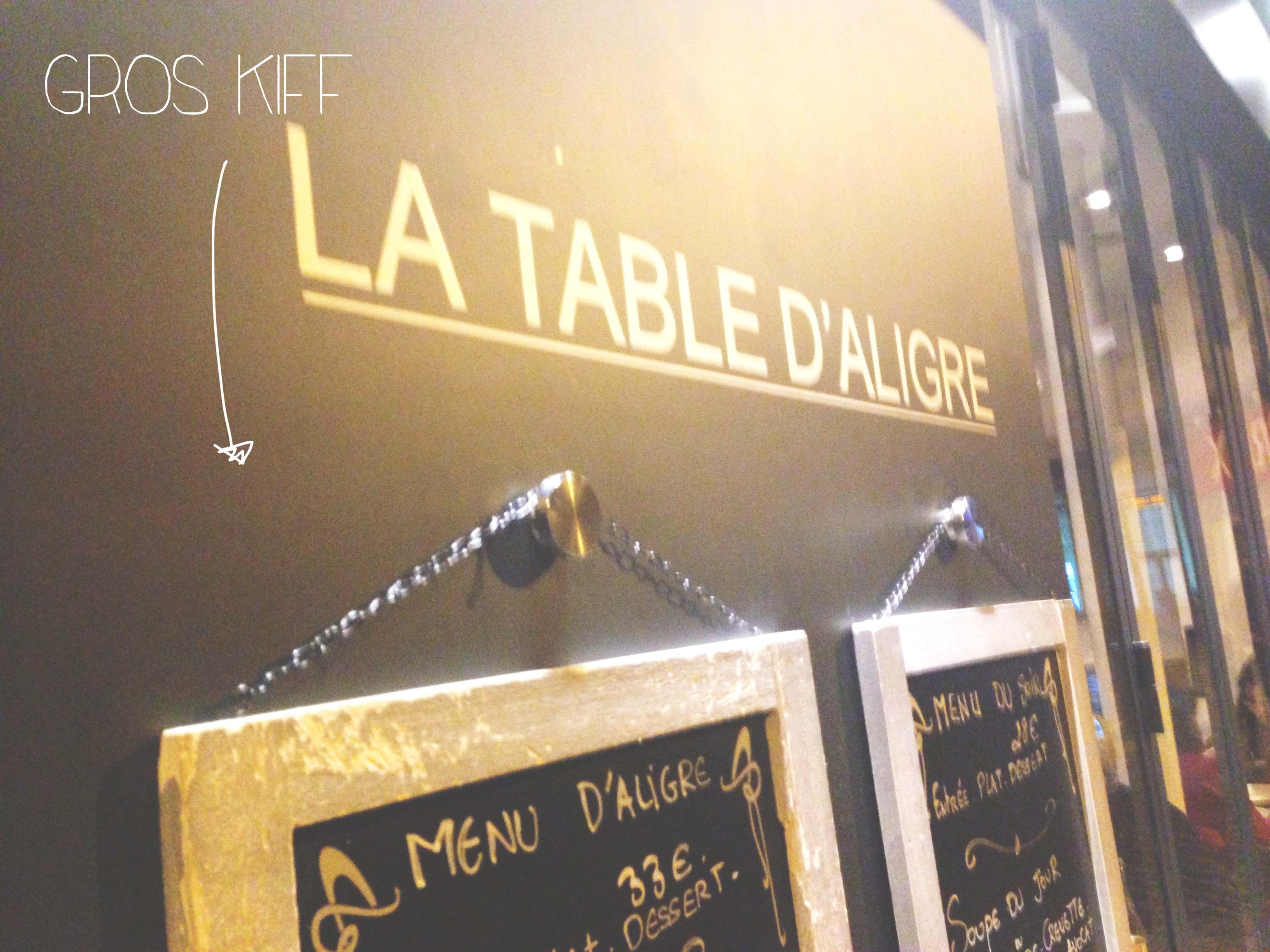 La Table D Aligre The Minette Blog